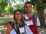 Pesquisadores - Katelen e Evandro
